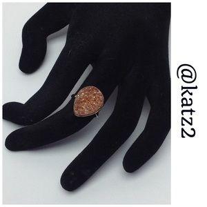Jewelry - Druzy Ring - NWOT